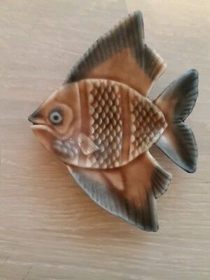 Vintage Wade Porcelain Angel Fish Pin Dish - Excellent Condition.