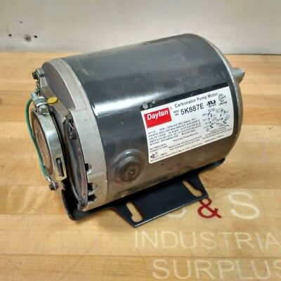 NEW! Dayton 5K887E 1/3HP 1725/1425RPM 115/230V Reversible Carbonator Pump Motor!