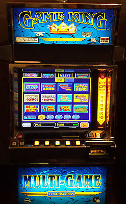 Igt Game King 6.4 113 Games Video Poker Slot Machine Lcd Monitor