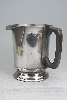 Fine Antique Pewter  Pint Tankard Mug Measure By Mathews – Joiners Arms, Finchle