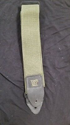 Ernie Ball Polypro Guitar Strap - Olive Green NEW