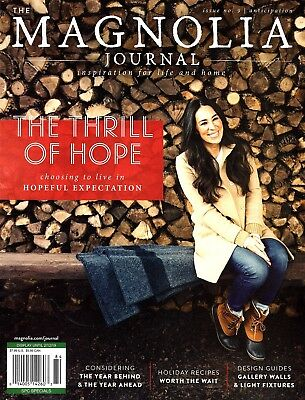 """""""THE MAGNOLIA JOURNAL"""" Magazine (Issue 9) ~ Inspiration for Life and Home ~ NEW"""
