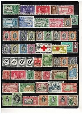Lot of Grenada & Jamaica Old Stamps Used/MH