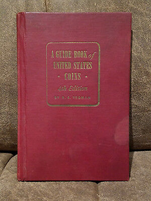 1951-1952 Red Book Guide To United States Coins 4th Edition R.S. Yeoman
