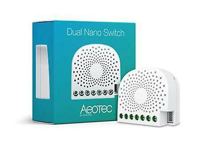 AEOTEC Z-Wave Nano Dbl Switch InWall