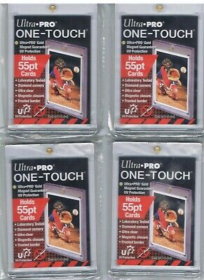 Ultra Pro One-Touch 55Pt Uv Protected Card Holder Lot Of 3