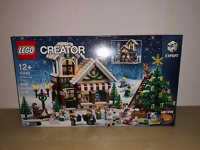 Lego 10249 - Winter Toy Shop - Nuovo - (Come Da Foto)