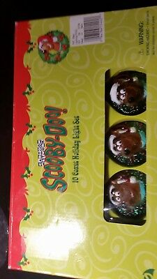 Vintage 2001 Scooby Doo Christmas Lights NIB UNUSED NEW IN BOX Face in a Wreath