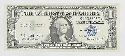 Crisp - 1957 United States Dollar Currency $1.00 Silver Certificate *421