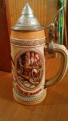 """A"" Series Limited Edition Budweiser Stein"