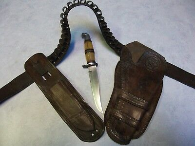 vintage 1900 double loop holster and more