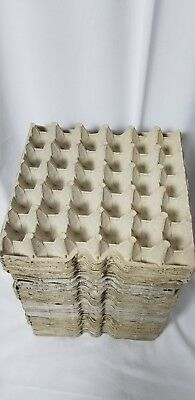 25 Pack Of 30 Count Egg Cartons Paper Trays Flats Crafts Crickets Roaches Tools