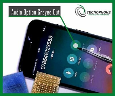 iPhone 7 Plus Audio IC Repair Service (No Mic Speaker, Slow Reboot )