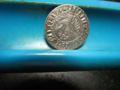 1300's - Germany _ Lubeck - Silver Groat                                  (H-41)