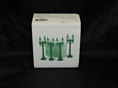 Department 56 Village Double Street Lamps Set of 4 Battery Operated Accessory