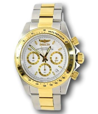 Invicta Speedway 9212 Men's Gold Stainless Steel Chronograph Watch 39.5mm