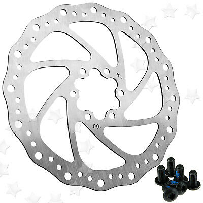 Mechanical Disc Brake For Bike Bicycle Cycling Front Rear Caliper 160mm Rotor