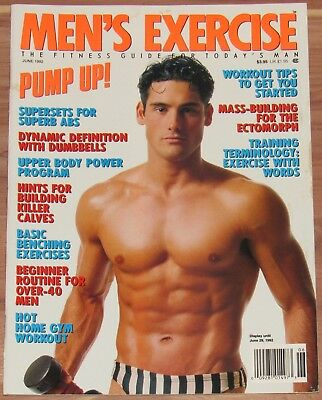 MEN'S EXERCISE MAGAZINE June 2011 Fitness Muscle Workout