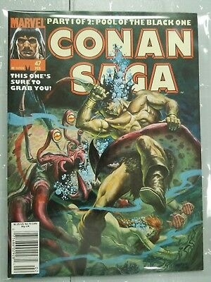 Conan Saga Marvel Vol 1 Number 27 Issued July 1989