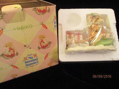 My Blushing Bunnies Figurine Gift of Friendship is Never Far Behind NIB Enesco