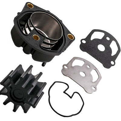 Complete Water Pump Impeller Kit with Housing for OMC Cobra 983895 984461 984744