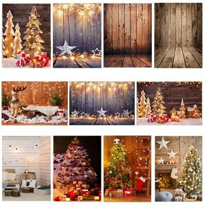Xmas Kid Vinyl Studio Muslin Photography Backdrops Photo Stand Background Props