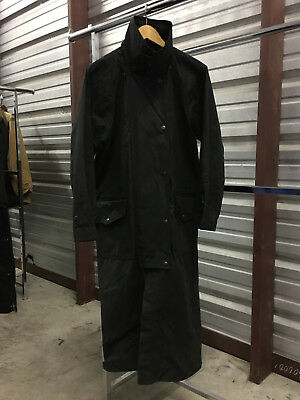 MENS MEDIUM - Outback Traiding Company Hunting OILED Lined Duster Coat Jacket