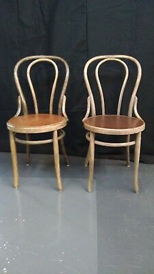Thonet like Bentwood Cafe Chairs