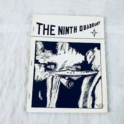 Star Trek TOC The Ninth Quadrant #2 Fanzine Magazine Vtg 1978