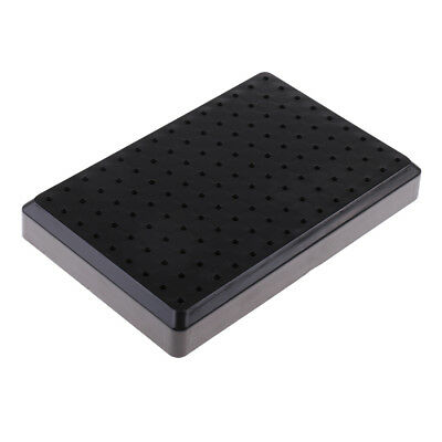 Black Painting Stand Holder Base Model Hobby Parts Spraying Modeling Tools