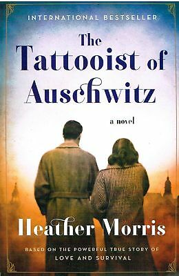 The Tattooist of Auschwitz by Heather Morris (2018, Paperback) LARGE PRINT