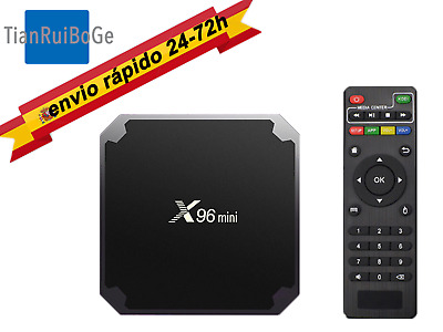X96mini TV BOX Android 9.0 Amlogic Quad Core 2.4G WIFI 4K Netflix TV CAJA