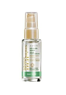 Avon Advance Techniques Daily Shine Dry Ends Serum 30ml - New