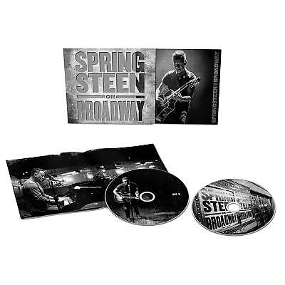 Bruce Springsteen 'springsteen On Broadway' 2 Cd Set (2018)