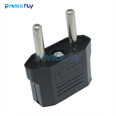 5PCS US USA to EU Euro Europe AC Power Plug Converter Travel Adapter Charger