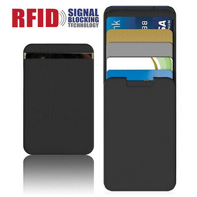 RFID Blocking Card Holder Card Package Anti-Side Wallet Action Push-Pull Zenlet