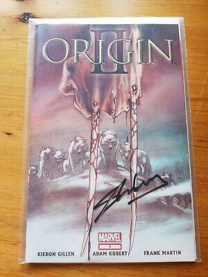 Marvel Wolverine 3D cover Origin 2 Issue 1 Signed By Stan Lee