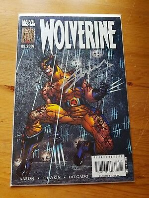 Marvel Comics 2007 Wolverine Issue 56 Signed By Stan Lee With Cert