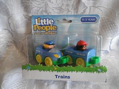 "Fisher Price Little People ""Trains"""