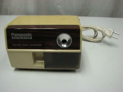 Panasonic KP-110 Auto-Stop Electric Pencil Sharpener Tested & Working