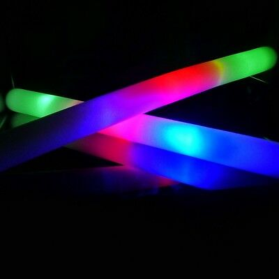 20 Palos de espuma luminosos Led multicolor