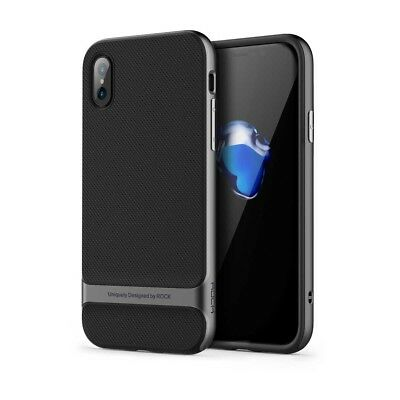 ROCK Royce Ultra Slim Hybrid Shockproof Case Cover for iPhone XR, X, XS, XS Max