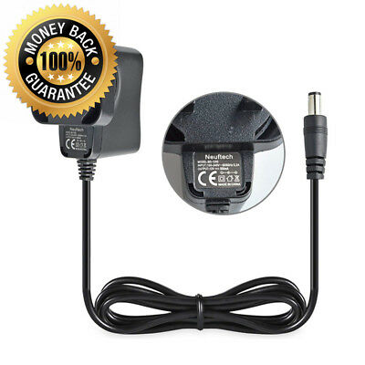 Neuftech 12V DC Power Supply 0.5A 500mA Plug UK Fixed Adaptor Charger Cable...