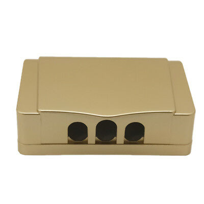 1Pcs Socket Switch Champagne Dual Waterproof Cover Box For Socket Panel Mounting
