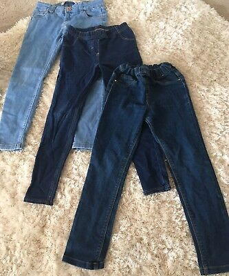Gorgeous Girls Jeans Jeggings Bundle 7-8 Years
