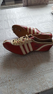 VINTAGE ANTIK ALTE adidas Meteor 503 athletics spikes