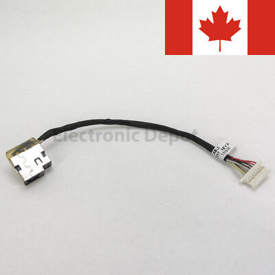 New HP ProBook 430 440 450 455 470 G3 DC Jack w/ Cable 804187-S17