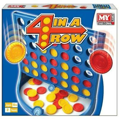 New Genuine My Line Up 4 Game In A Row Traditional Board Game Family Kids Fun