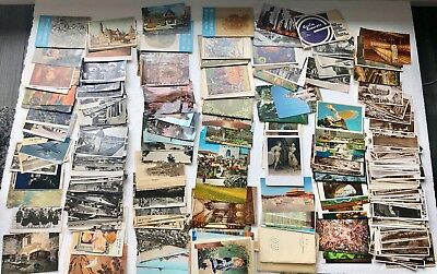 Lot of Vintage and Antique Postcards South America Europe Polynesia