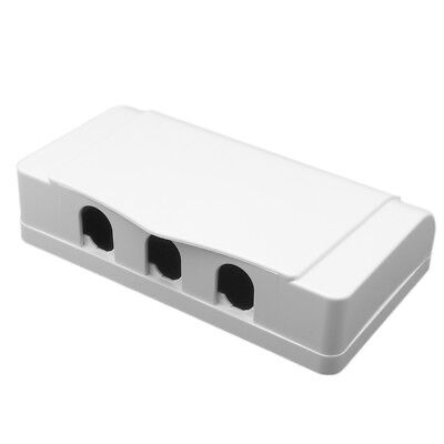 1Pcs White Socket Switch Triple Waterproof Cover Case Box For Socket Panel Mount